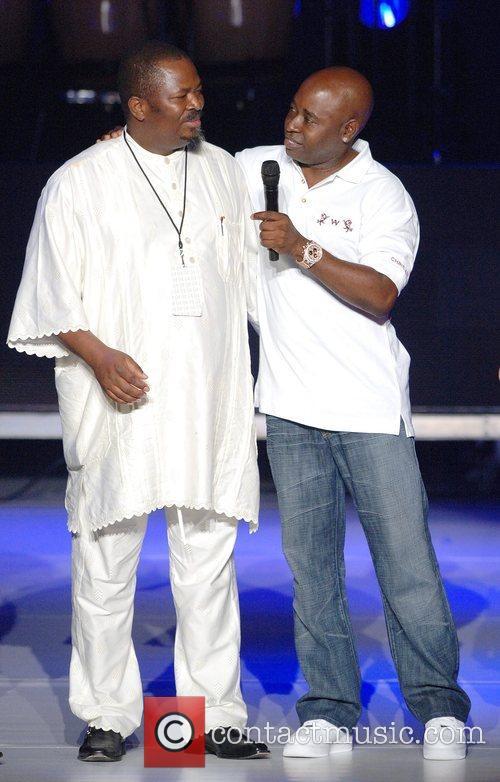 Organiser Nduka Obaigbena and designer Chris Aire The...