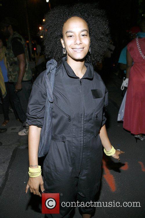 Amatus Karim 4th Annual Afro-Punk Festival held at...