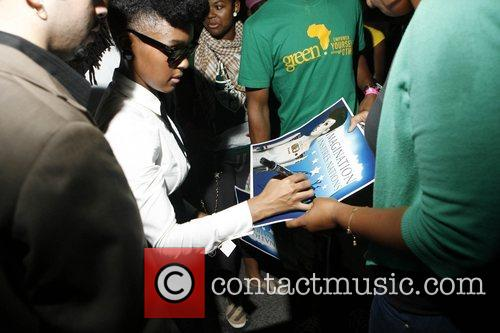 Janelle Monae 4th Annual Afro-Punk Festival held at...