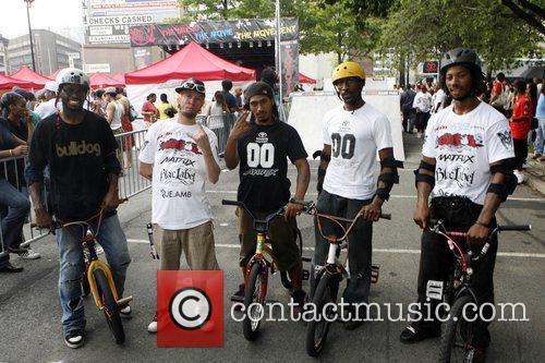 Team Bulldog 4th Annual Afro-Punk Festival held at...