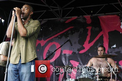 The Smyrck  4th Annual Afro-Punk Festival held...