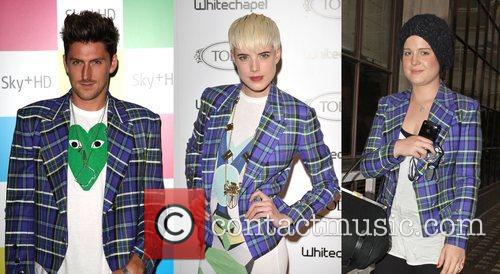 Henry Holland, Agyness Deyn and Kelly Osbourne Who...