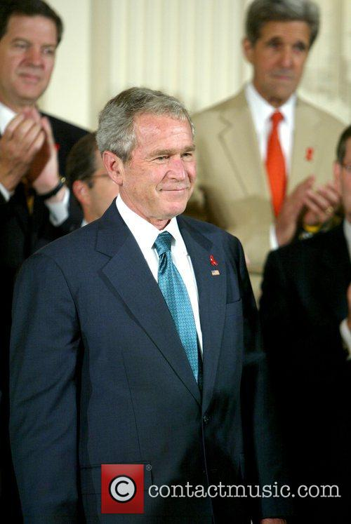 George W. Bush The signing of HR 5501,...