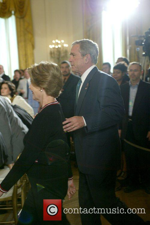 Laura Bush and George W. Bush 1