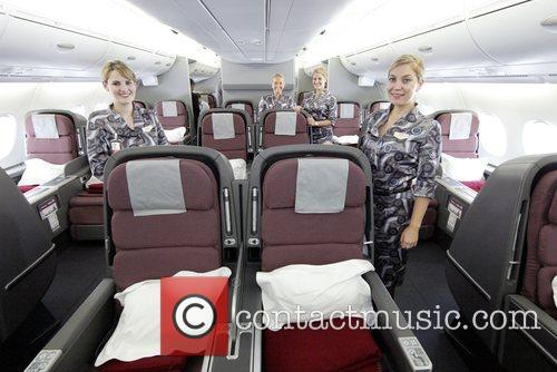 Qantas Welcomes Its First A380 Jet To Australia. The Aircraft 8