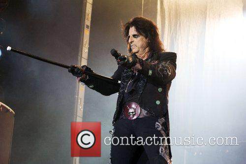 Alice Cooper  performing live at the ExCel...
