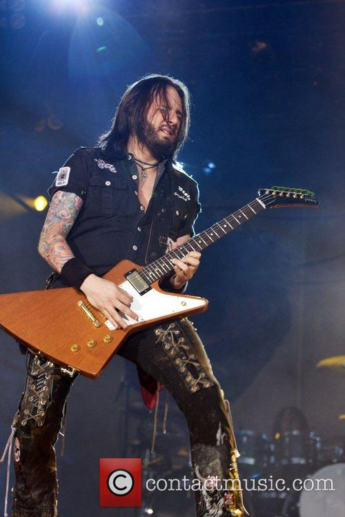 Jason Hook performing live at the ExCel Arena...