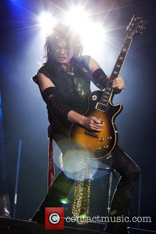 Keri Kelli performing live at the ExCel Arena...