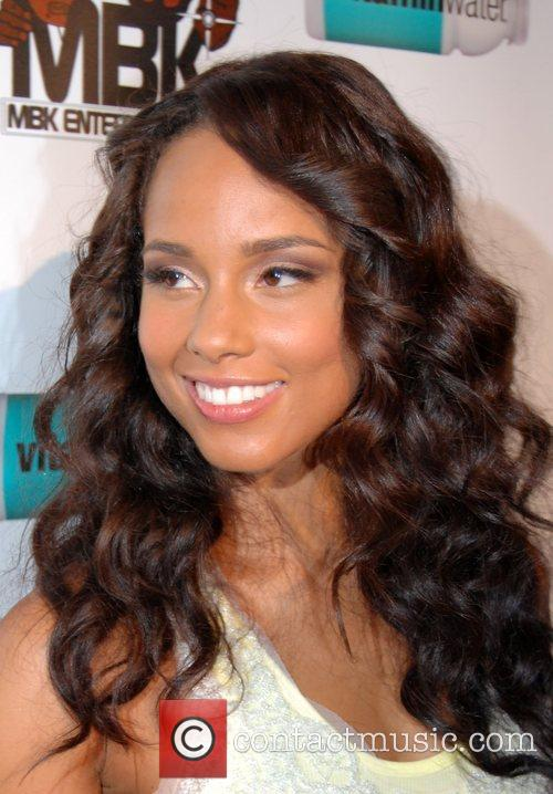 Alicia Keys Alicia Keys after show party at...