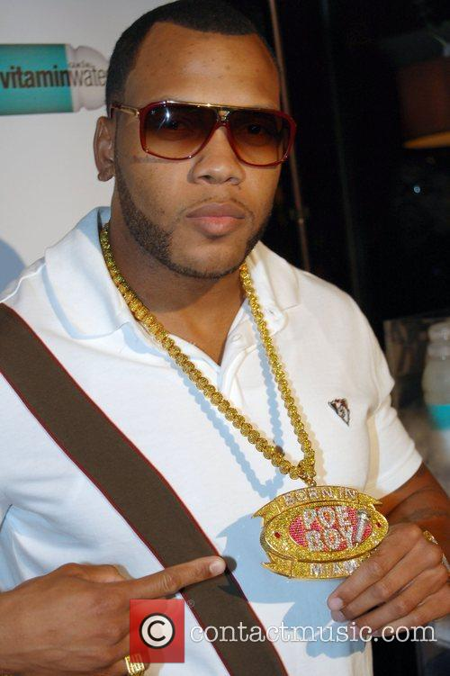Flo-Rida Alicia Keys after show party at The...