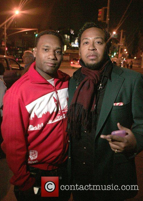 D'Prosper and Om'mas Alicia Keys after show party...