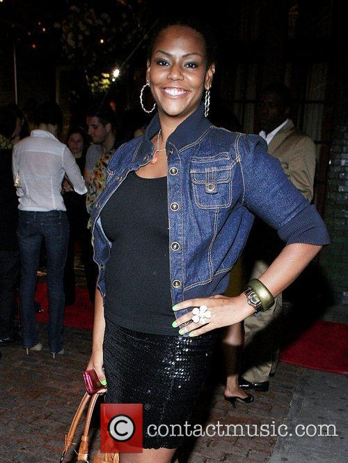 Kristi Henderson  Alicia Keys after show party...