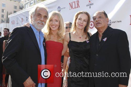 Tommy Chong and Cheech Marin With Their Wives 1
