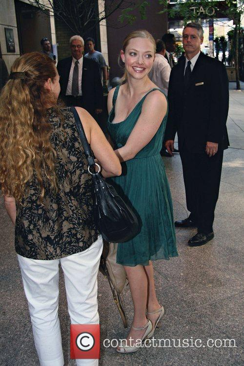 'Mama Mia!' star Amanda Seyfried arrives at her...