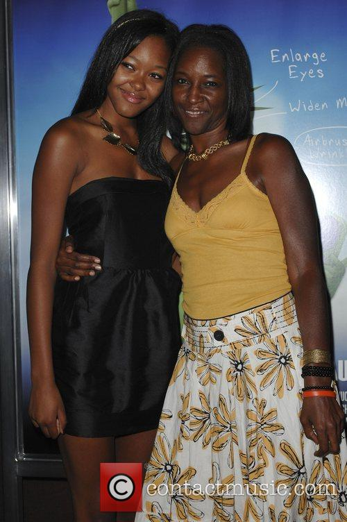 Model Gerren Taylor and her mother Michelle Taylor...