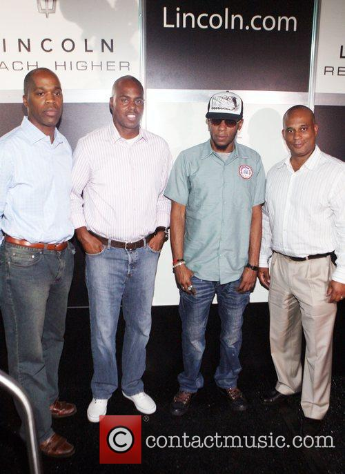 Isaac Washington, Kevin Frazier, Mos Def and Marc...