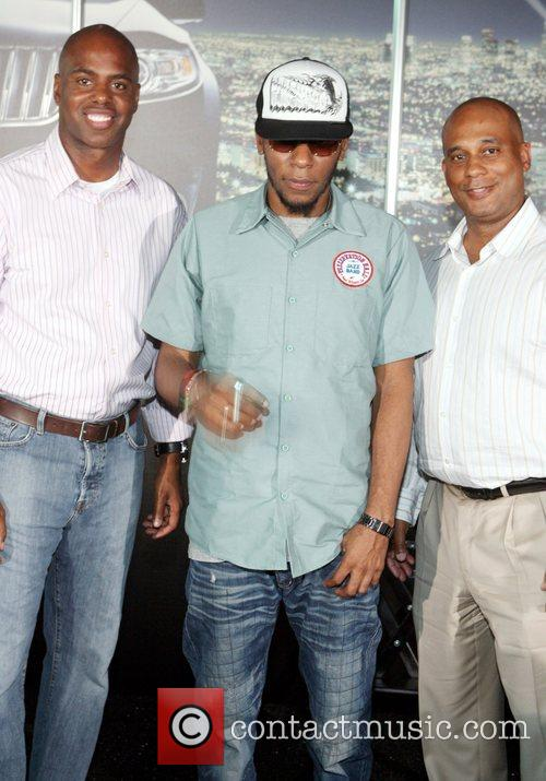 Kevin Frazier, Mos Def and Marc Perry Lincoln...