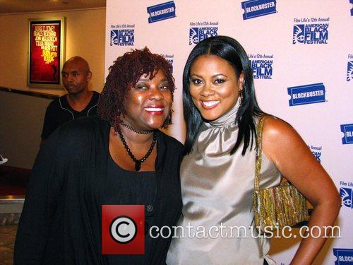 LeLa Rochon (r) and guest The 2008 Black...