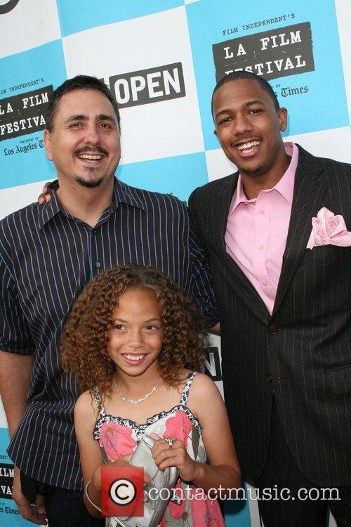 Nick Cannon, Director Neil Abramson and Erika Glock 5