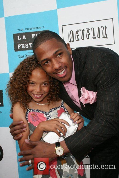 Nick Cannon and Erika Glock 4