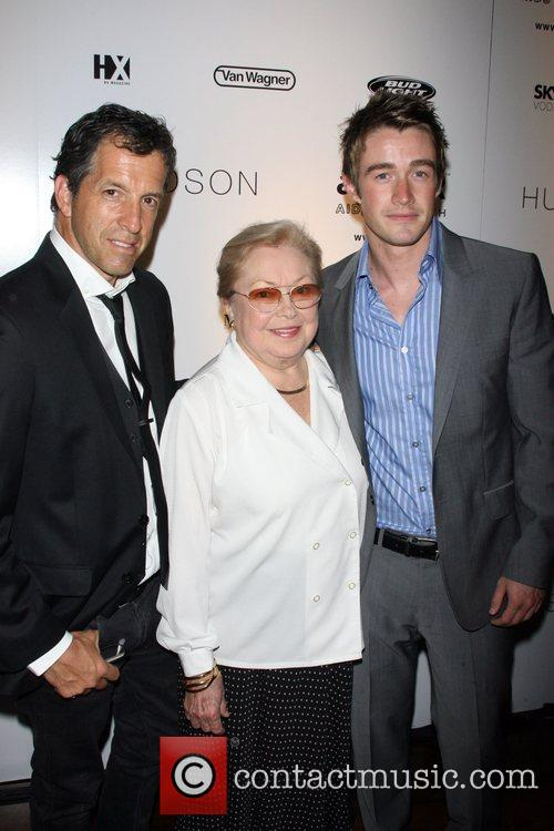 Kenneth Cole, dr Mathilde Krim and Robert Buckley...