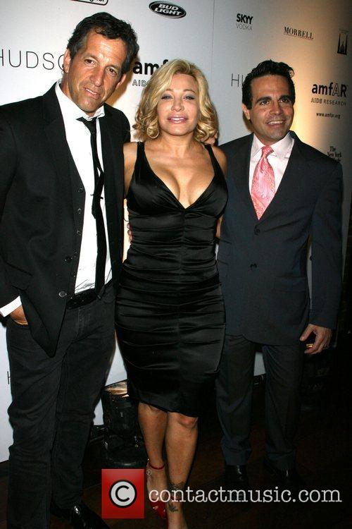 Kenneth Cole, Taylor Dayne and Mario Cantone AMFAR's...
