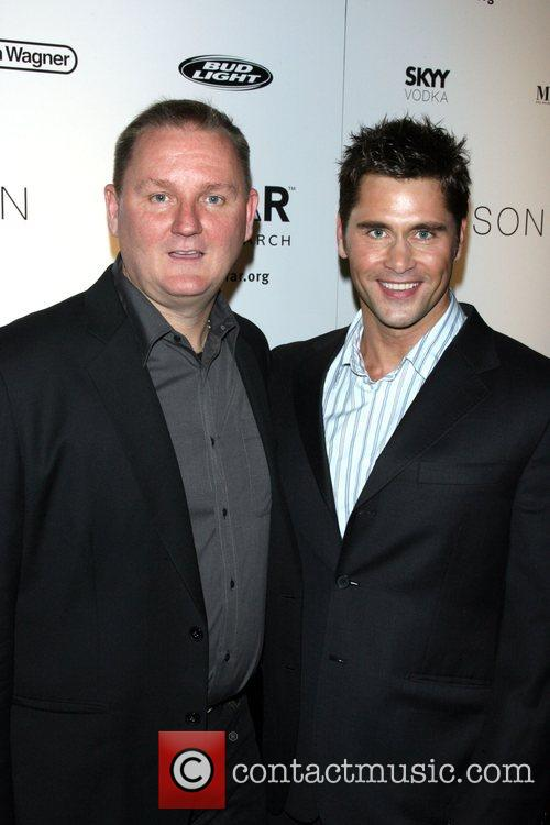 Kevin Robert Frost and Jack Mackenroth AMFAR's ninth...