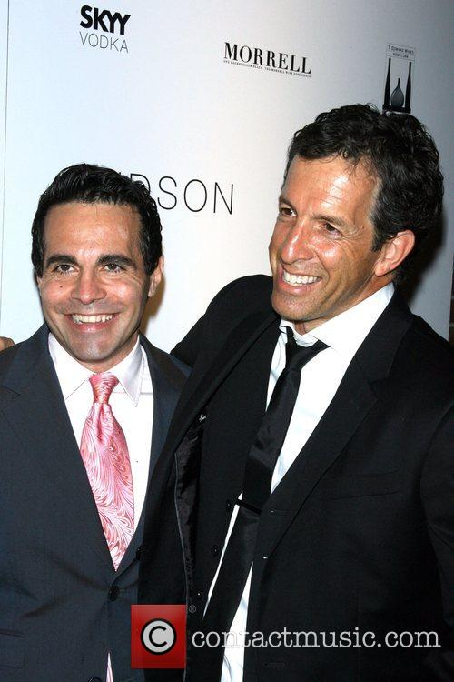 Mario Cantone and Kenneth Cole AMFAR's ninth annual...