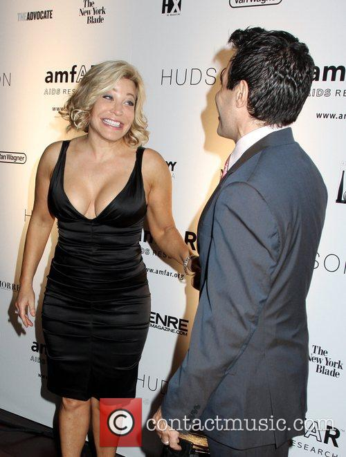 Taylor Dayne and Mario Cantone 9th Annual Amfar...