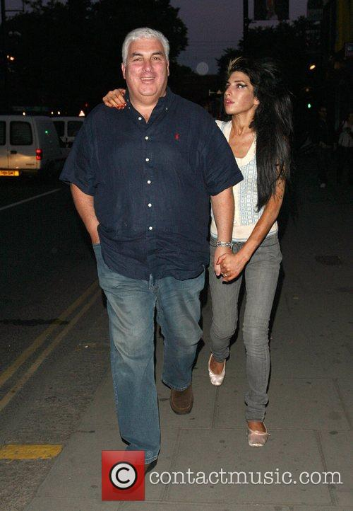 Mitch Winehouse takes daughter Amy Winehouse to the...