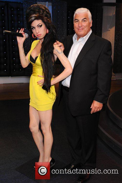 Mitch Winehouse Amy Winehouse waxwork unveiling held at...