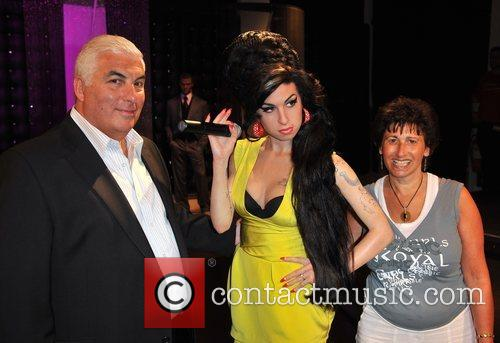 Amy Winehouse waxwork unveiling held at Madame Tussauds.