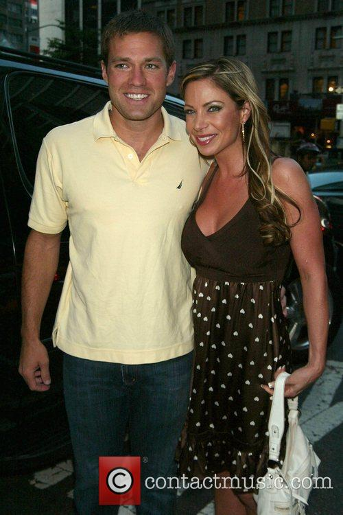 The Bachelor's Andy Baldwin and his date Jill...