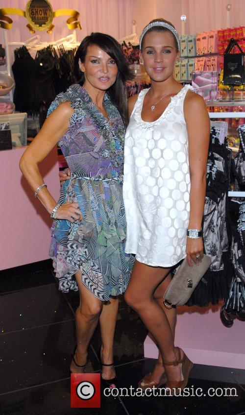 Liz Cundy and Danielle Lloyd,  Ann Summers...