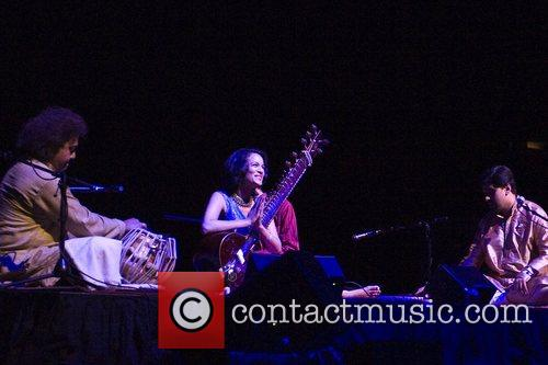 Anoushka Shankar  performing live with the with...