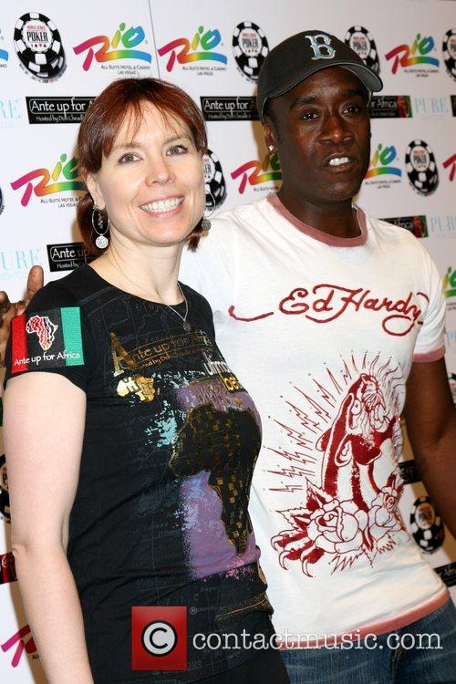 Annie Duke and Don Cheadle 'Ante up for...