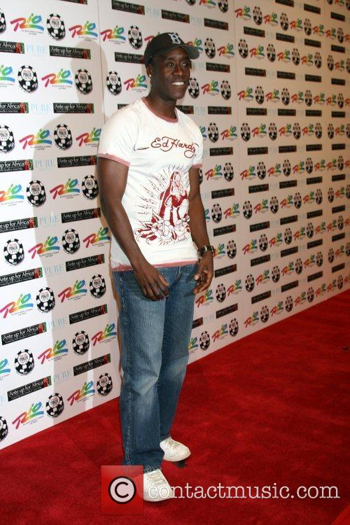 Don Cheadle  'Ante up for Africa' Poker...