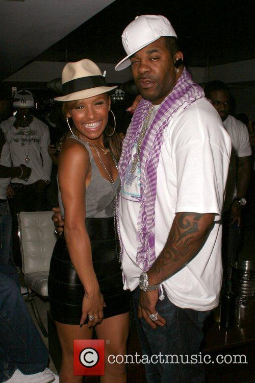 Melody Thornton of The Pussycat Dolls and Busta...