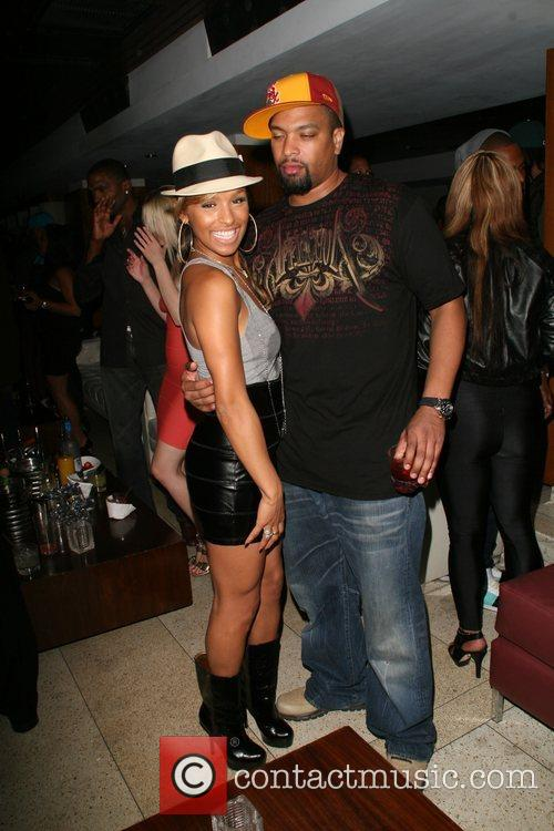 Melody Thornton of The Pussycat Dolls and Dray...