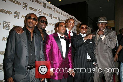 Ronnie Devoe, Ascap, Bobby Brown, Johnny Gill and Ralph Tresvant 4