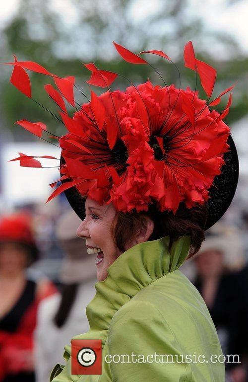 During Ladies Day at Royal Ascot racecourse at...