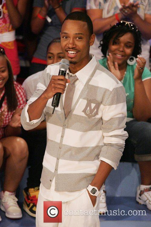 Terrence J at BET's 106 & Park