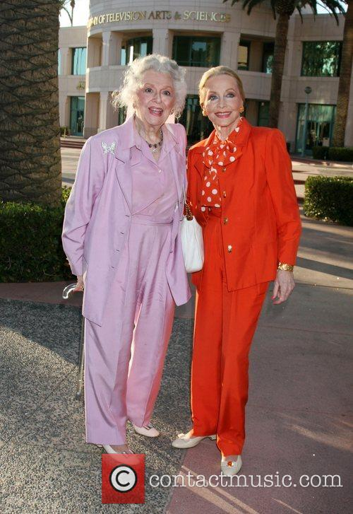 Ann Rutherford and Betty White