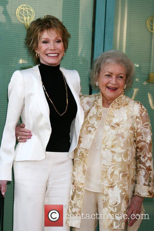 Mary Tyler Moore and Betty White 7