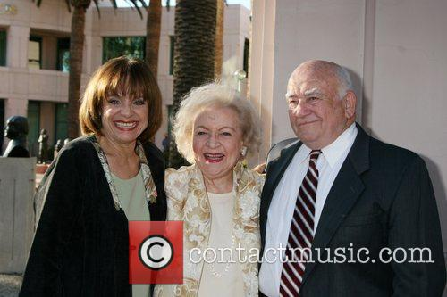 Arriving at the ATAS Honors Betty White Celebrating...