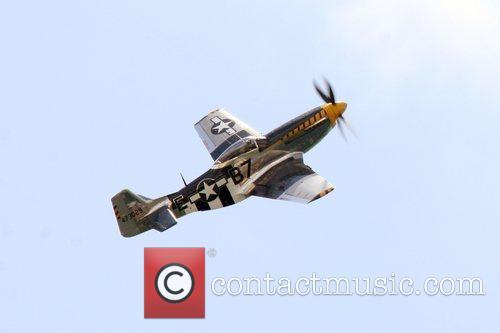 USAF P-51 Mustang performing at the 2008 Atlantic...