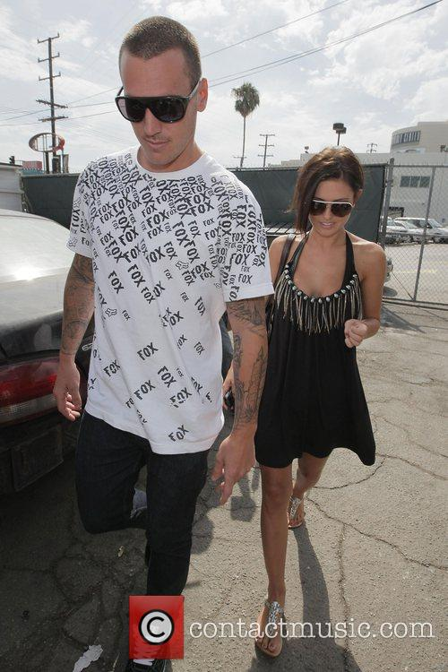 Audrina Partridge and her new boyfriend Corey Bohan...
