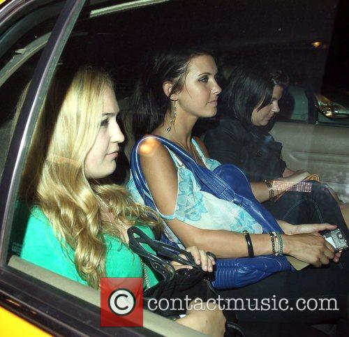 'The Hills' star Audrina Patridge leaving Goa nightclub...
