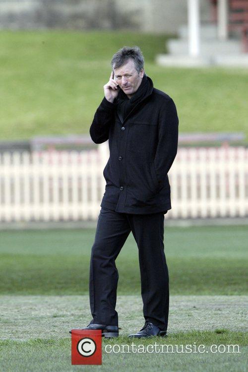 Steve Waugh Ex-Australian cricket captain Steve Waugh attends...