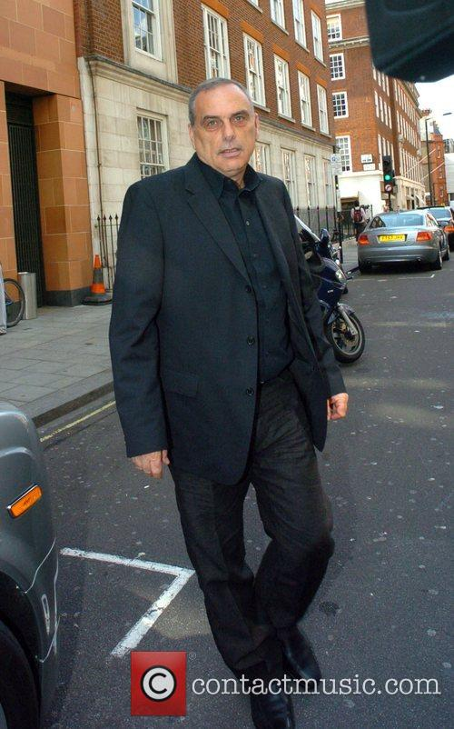 The ex Chelsea manager leaving Cipriani Restaurant after...